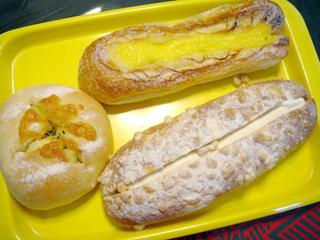 「フレッズ」のパン
