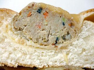 豆腐ハンバーグパン