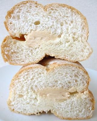 やさしいもちもちフランスパン<焦がしバター>