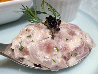 「西洋懐石 アンシャンテ」前菜タルタル
