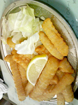 ニュー松屋ポテトフライ