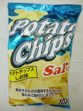 ポテトチップスしお味