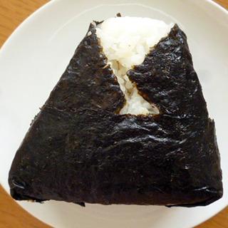 大きな三角おむすび