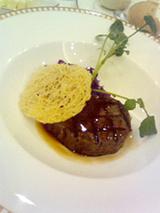 結婚式フィレ肉のグリエ1