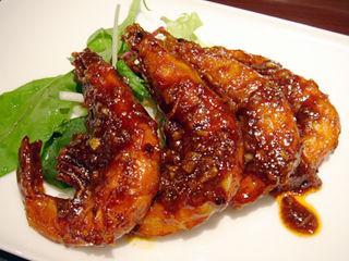 「Chinese Restaurant 都来」エビチリ黒