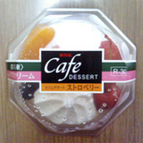 カフェデザートストロベリー1