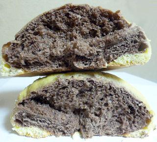 チョコバナナ風メロンパン