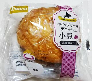 ホイップケーキデニッシュ小豆