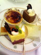 結婚式デザート1