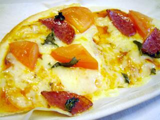 日清Spa王<とろっとたまごのカルボナーラ>ピザ