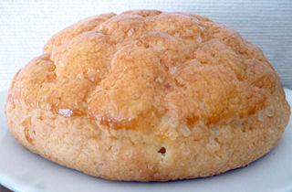 バター風味のメロンパン