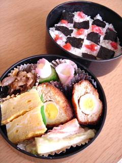 お弁当☆お花見弁当