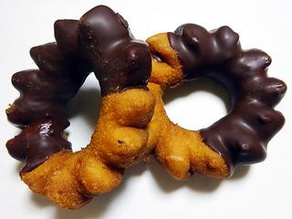 チョコリングドーナツ