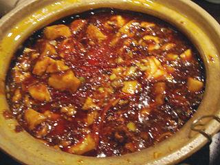「Chinese Restaurant 都来」麻婆豆腐辛い