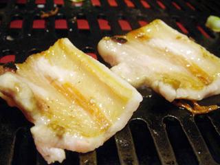 ホエー豚の焼肉 豚バラ