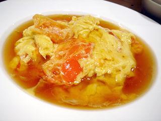 「Chinese Restaurant 都来」トマトと卵