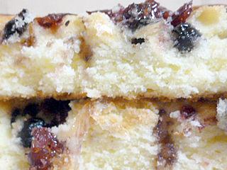 ワイルドブルーベリーのケーキ