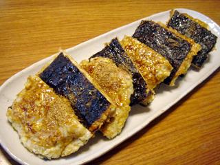 豆腐とたたきヤマトイモのかば焼き