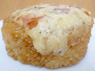 こんがり焼いたチーズベーコン
