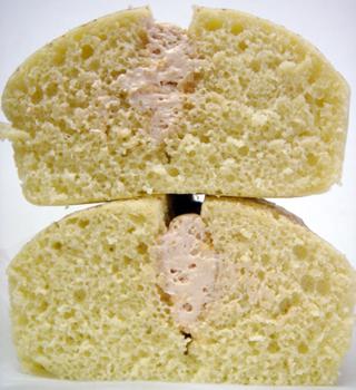 バナナキャラメル蒸しケーキ