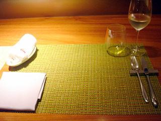 「ペッシェ・ロッソ」テーブルセット