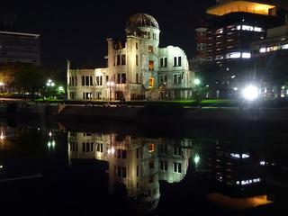 原爆ドームと周辺散歩