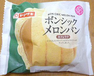 ボンシックメロンパン<カフェラテ>