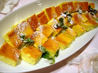 「SAGRA MARBLE TRE」チーズケーキ