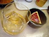 立ち呑み処 たまやん 梅酒とチーズ