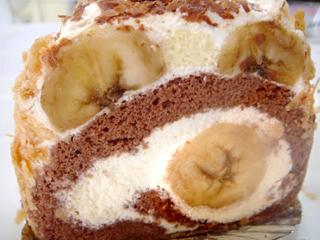 「パティスリーフランダース」バナナスペシャル