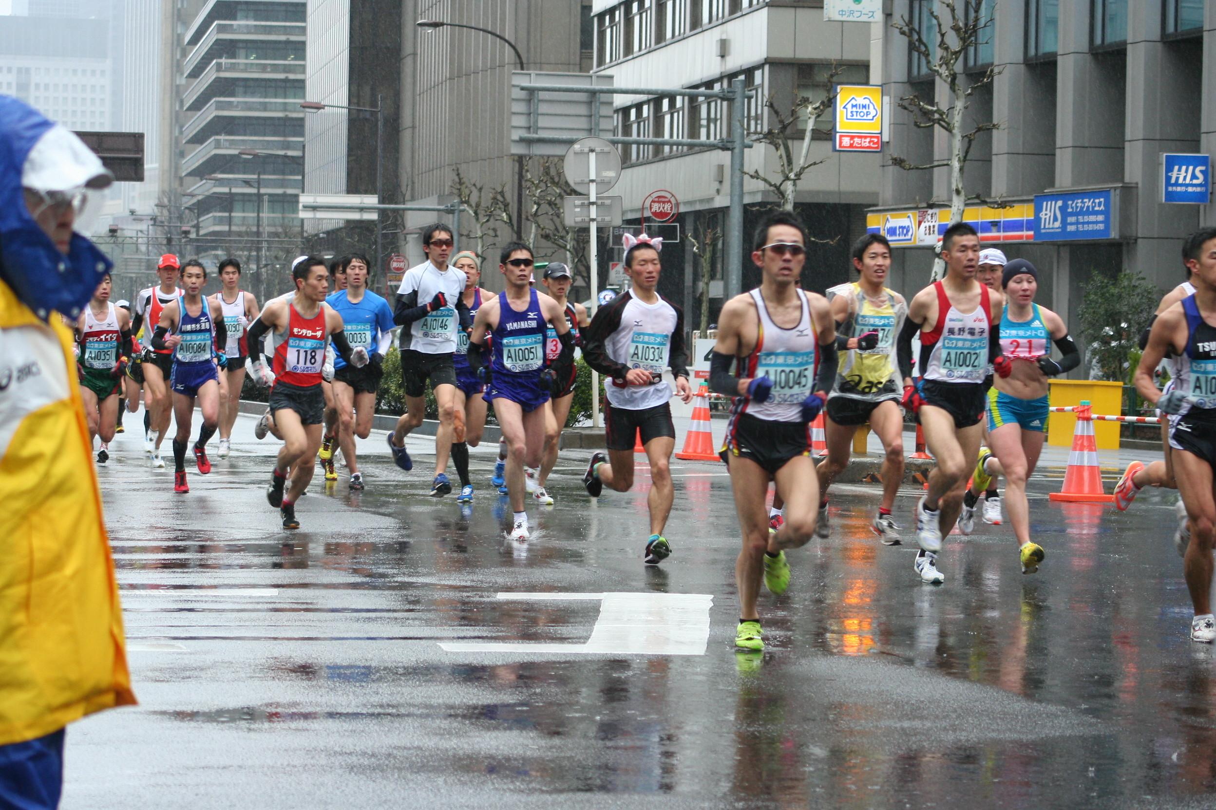 東京マラソン2010<1> : おやじ...