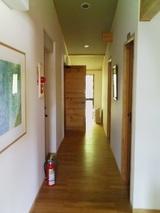 本館宿泊部屋廊下