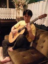 練習中の富川