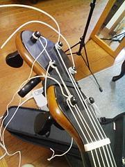 19世紀ギターヘッド