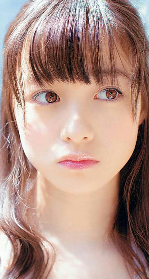 橋本環奈の顔をアップで見るとより天使