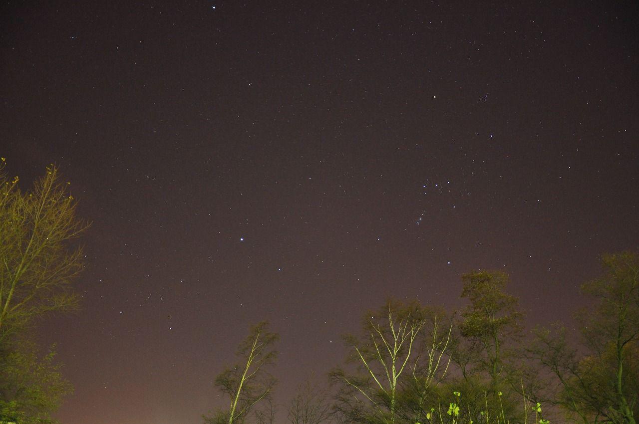 Tomo's Blogの2009年11月星空写真