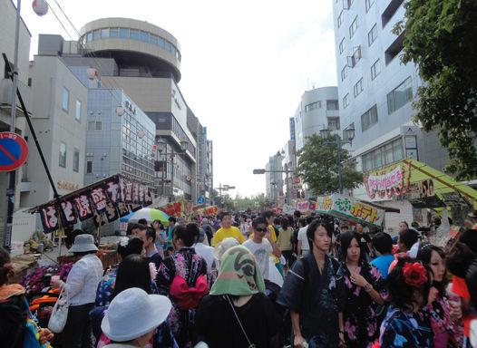 takasaki祭り