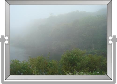 霧深しフレーム