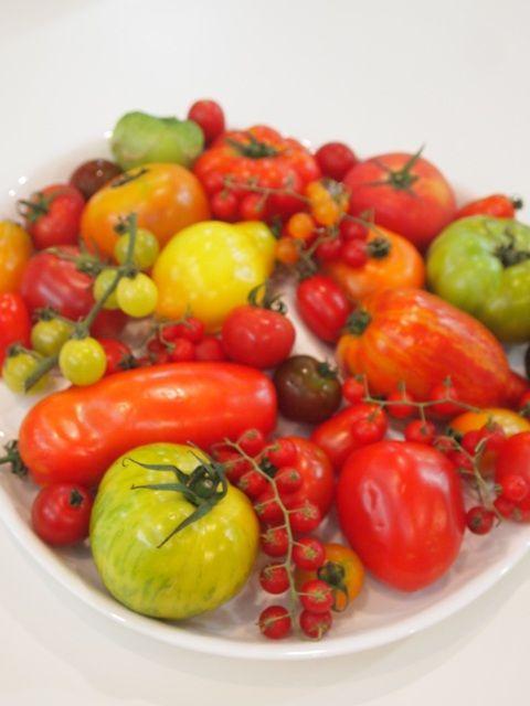 トマト盛り