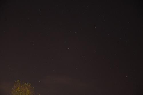 2009年11月19日の星空2