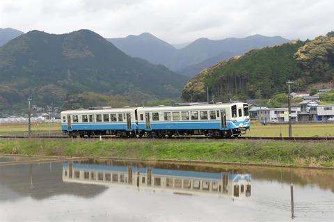 713Dろキハ32×2連(斗賀野-襟野々)(R3.4.24)