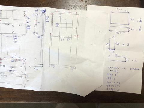 郵便ポストの設計図