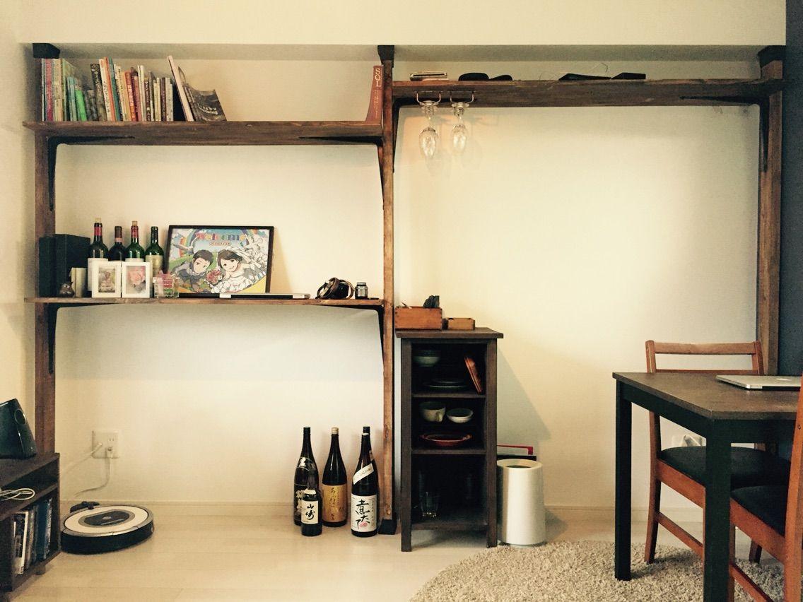 Diy ディアウォール を使って賃貸マンションの壁に木製の棚を設置しました 宮崎ともともダイアリー