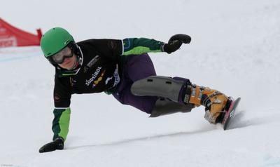 FIS Snowboard World Cup - Carezza - PGS - Tomoka Takeuchi (JPN)