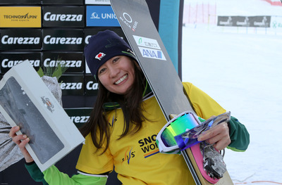FIS Snowboard World Cup - Carezza - PGS - Tomoka Taekuchi (JPN)