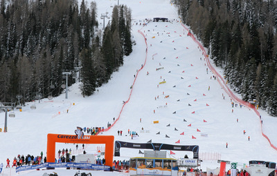 FIS Snowboard World Cup - Carezza - PGS - Course-2