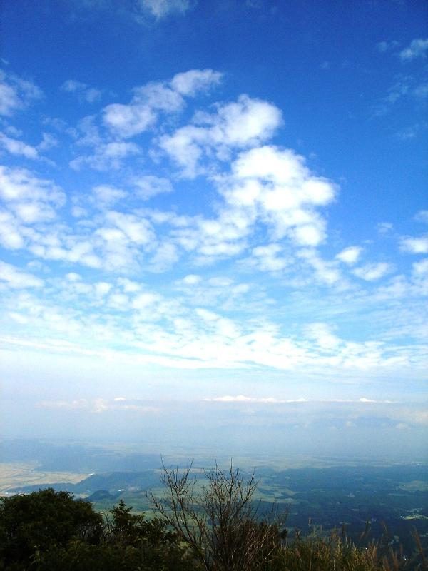 東峰より空