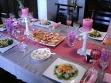 コンフィチュールなテーブルとお料理