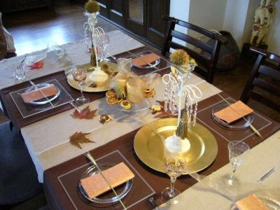 秋のテーブル2