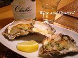 ワインと牡蠣♪